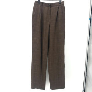 Carlisle Houndstooth Trouser Sz 4 Wool Lined Vtg